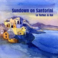 le turkus-kai – «sundown on santorini»